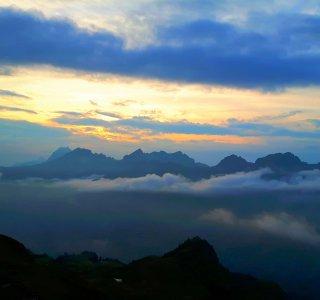 Wandern, Alpen (4)