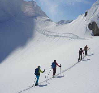 Aufstieg zum Geitgallien auf den Lofoten