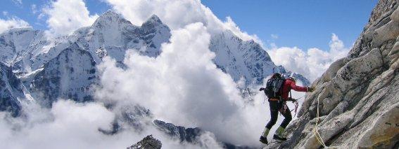Klettern Hochtour Ama Dablam