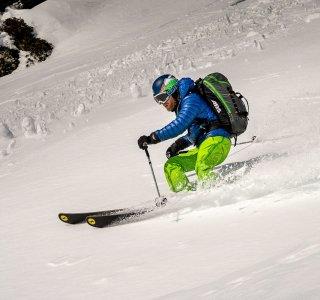 Freeriden, Skitour, Skifahrer, Powder