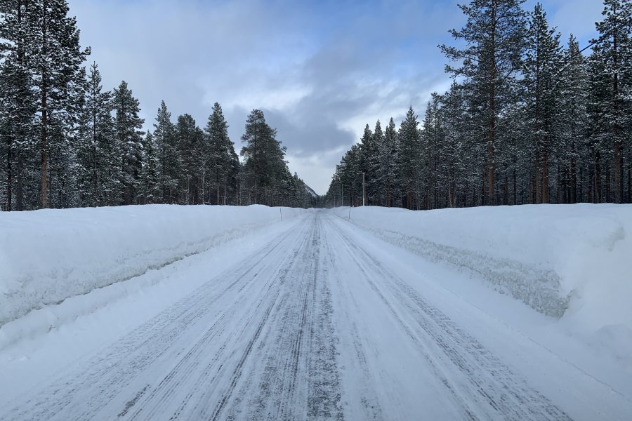 On the Road to Lyngen, irgendwo in Lappland