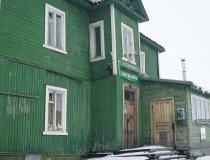 Spitzbergen, Barentsburg, alte Poststation