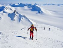 Skitouren auf Spitzbergen, Gronfjord