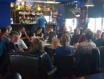 Party in der russischen Bar zum Roten Bären in Barensburg