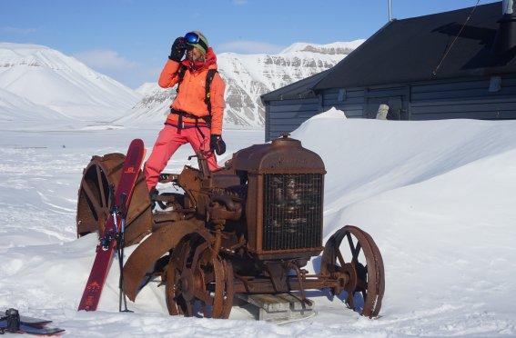 Bellavista an der Küste Spitzbergens