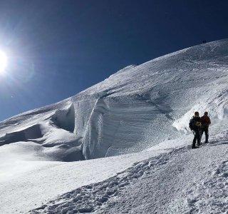 Bossesgrat, 2 Bergsteiger