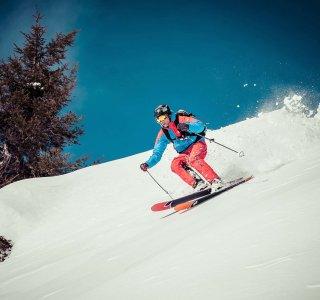 Skitour, Freeriden, Kleinwalsertal, Skifahrer