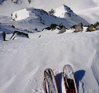 Powderhang, Ski, Ausblick, Disentis