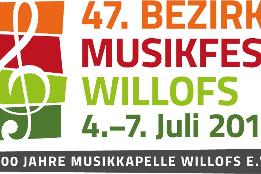 Bezirksmusikfest in Willofs