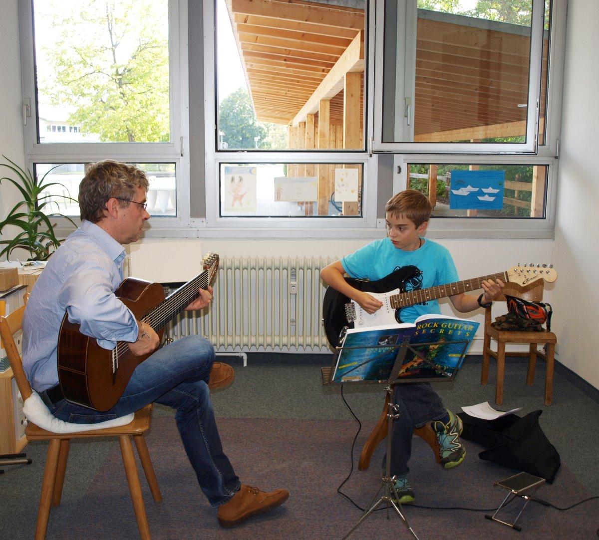 E-Gitarrenunterricht