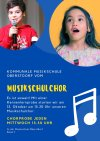Flyer Musikschulchor