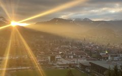 Oberstdorf Sonnenuntergang