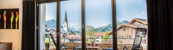 N6, Siebenschön, Ausblick auf Oberstdorf