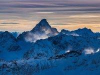 Oberstdorf, Gipfel, Schnee und Eis