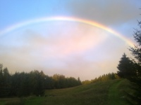 Regenbogen Naturoase Wandelbar