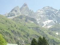 beindruckendes Bergmassiv