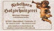 Nebelhorn Holzschnitzerei