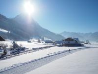 Rubihorn Winter mit Langläufer