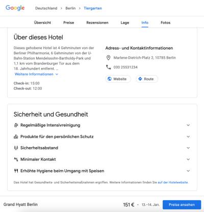 Screenshot Google Travel Grand Hyatt Berlin 2021-01-11 (c) netzvitamine