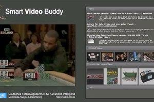 Screenshot DFKI-Demovideo  © SmartVideoBuddy