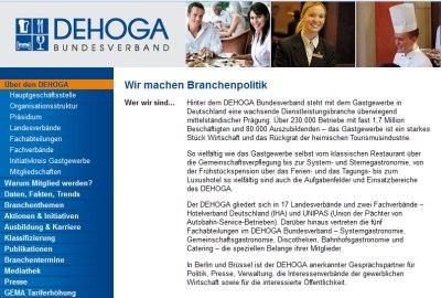 Screenshot © 2015 Deutscher Hotel- und Gaststättenverband e.V.