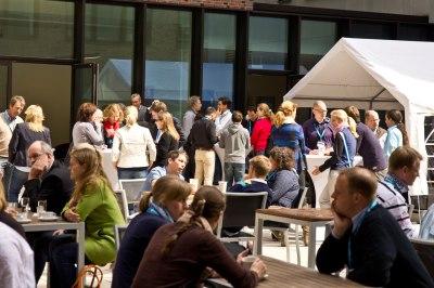 Energie tanken beim DestinationCamp 2012 © Johannes Leistner