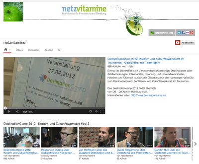 Neues Youtube Layout © Google Inc.