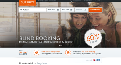 Screenshot © 2013 HRS - Hotel Reservation Service Robert Ragge GmbH