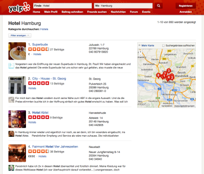 Screenshot © 2004–2015 Yelp