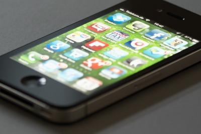 IPhone 4S mit Apps © netzvitamine GmbH