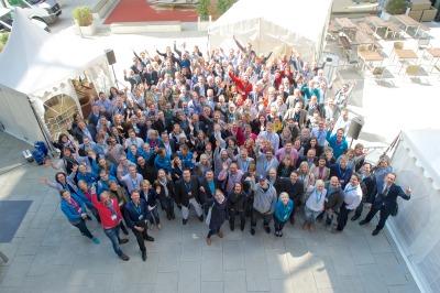 Gruppenfoto vom DestinationCamp 2015 © Johannes Leistner