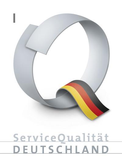 ServiceQualität Deutschland - zertifiziertes Unternehmen