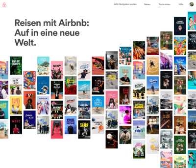 Screenshot airbnb.de/new © Airbnb Inc.