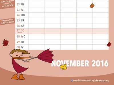 Kalender November