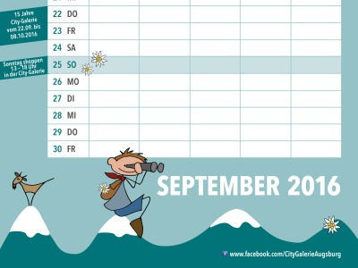 Familienkalender September