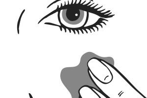 Illustration Anwendung einer Ampulle