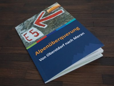 E5 Buch Alpenüberquerung