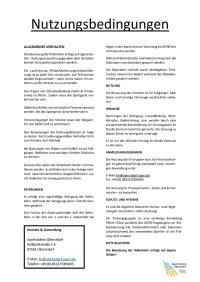 Nutzungsbedingungen Rollerbahn