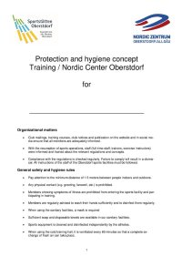 Concept Nordic Center fill out