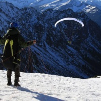 Nebelhorn Gleitschirmausbildung