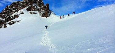 Schneeschuh-Transalp