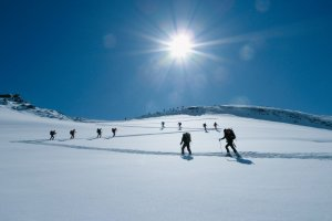 Skitouren Haute Route
