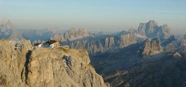 Dolomiten Höhenweg - bergpanorama