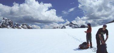Gletscher im Silvretta