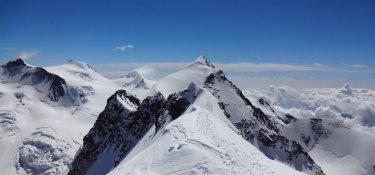 Panorama auf 4000 Meter