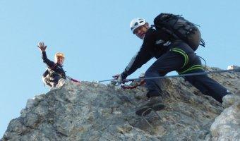 Klettersteig Felsen