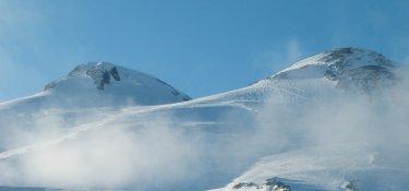 Hochgebirge im Kaukasus