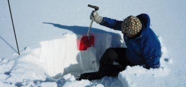 Analyse der Schneedecke