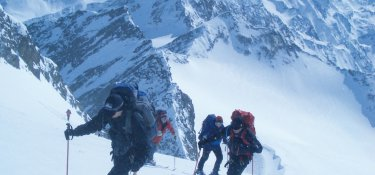 Skitour auf den Gipfel