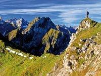 Allgäu-Durchquerung - Die Höfats, der schönste Berg der Welt (laut alpin Ausgabe Juli 2013)